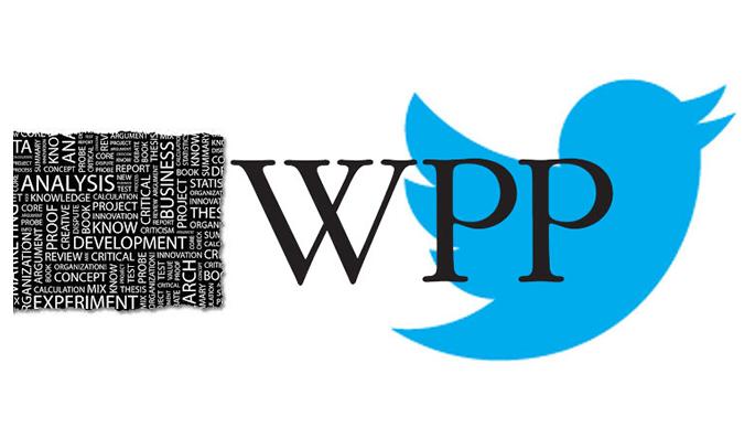 WPP et Twitter