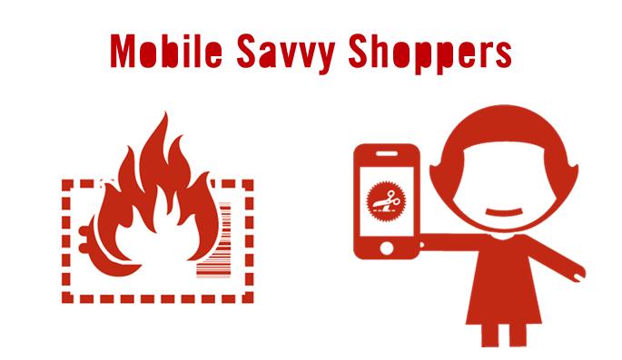 mobile savvy shopper