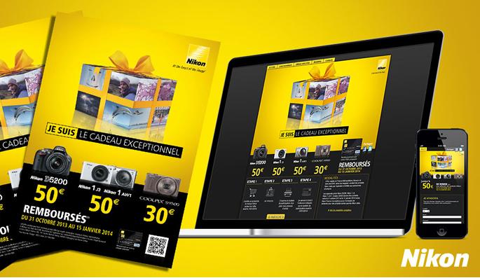 Offre de remboursement Nikon