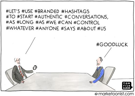 usages des hashtags