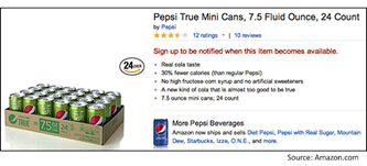 Pepsi innove sur Amazon ecommerce