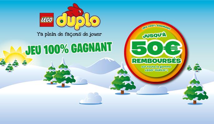 LEGO DUPLO : OFFRE DE REMBOURSEMENT