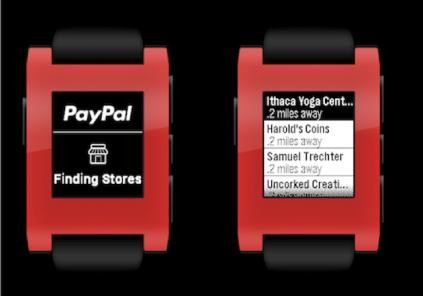 Paypal Pebble app