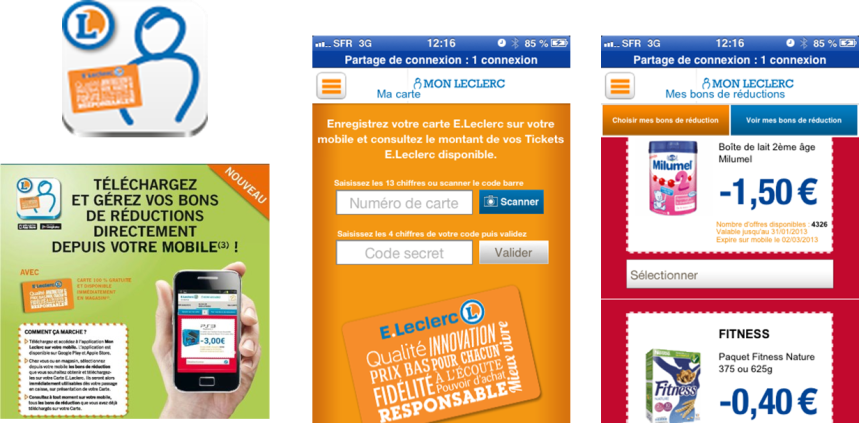 COUPON MOBILE LECLERC