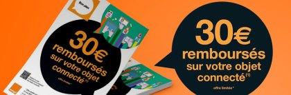 Orange lance une offre de remboursement sur les objets connectés