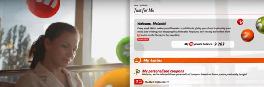 Application mobile offres promotionnelles personnalisées