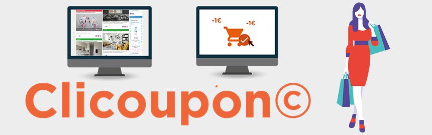 solution Clicoupon© créée par HighCo et Clic2buy et actuellement en test par P&G via le programme CRM Envie de plus