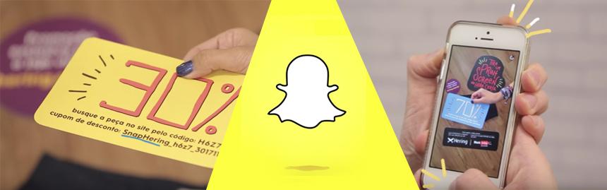 SnapShat se lance dans le couponing au brésil