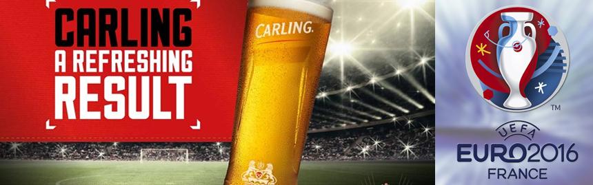 Carling s'invite à l'Euro 2016