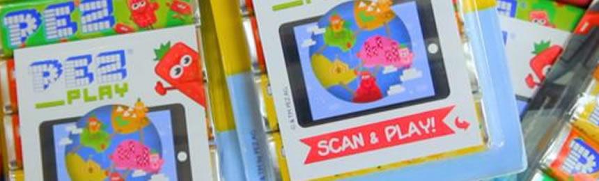 PEZ : les bonbons se digitalise